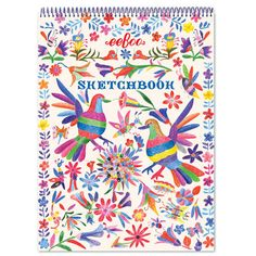 """Decorative birds in a traditional pattern, illustrated using eeBoo pencils! (Pronounced OH-AH-HA-KUH). Features - For ages 3 and up - 8.5"""" x 11"""" - 60 pages - Spiral bound"""