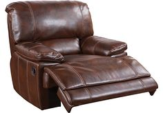 Shop for a Santa Rosa Blended Leather Glider Recliner at Rooms To Go. Find Recliners that will look great in your home and complement the rest of your furniture.