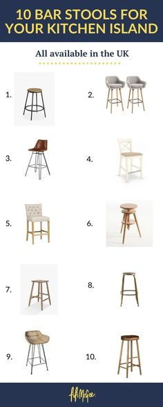 We put our top 10 bar stools to the test, looking for great design, sturdiness and of course, comfort. #kitchenideas #kitchenbarstools #kitchenstools #kitchenstyle #kitchendecor Open Plan Kitchen Diner, Kitchen On A Budget, Kitchen Ideas, Kitchen Decor, Kitchen Stools, Kitchen Units, Bar Stools, Clever Kitchen Storage, Kitchen Storage Solutions