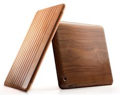 beautiful flexible timber iPad Case
