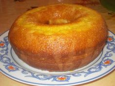 Bolo de laranja de liquidificador - Tudo Gostoso  Orange cake