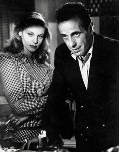 Lauren Bacall Humphrey Bogart To Have Have Not 1944 Hollywood Couples, Old Hollywood Glam, Hollywood Icons, Golden Age Of Hollywood, Hollywood Stars, Classic Hollywood, Humphrey Bogart, Lauren Bacall, Movie Couples