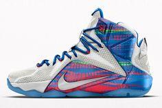 "3d71ad0fcd8 Nike Lebron 12 ""23 Chromosomes"" Nike Headbands"