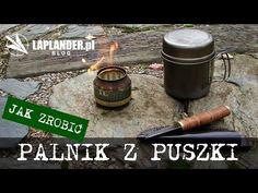 Palnik z puszki w 5 minut, czyli kuchenka survivalowa na alkohol | Laplander.pl | Survival | Bushcraft