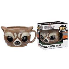 Funko POP! Home Guardians Of The Galaxy: Rocket Raccoon Ceramic Mug - Marvel NEW /item# G4W8B-48Q559 @ niftywarehouse.com #NiftyWarehouse #GuardiansOfTheGalaxy #Marvel #Movies #ComicBooks #Comics #MarvelMovies
