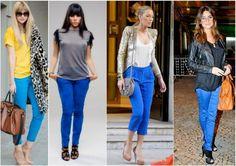 Looks para inspirar com calças coloridas