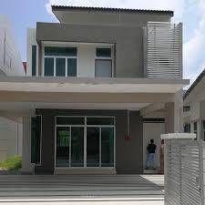 Rumah Teres Dua Tingkat Cantik