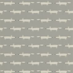 Style Library - The Premier Destination for Stylish and Quality British Design | Products | Little Fox Wallpaper (NSWA110838) | Spirit & Soul Wallpapers | By Scion