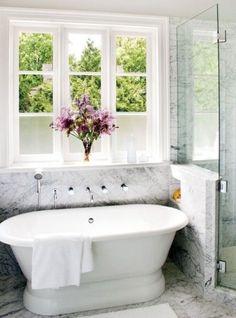 bathtubs.. Like the wall mount for plumbing
