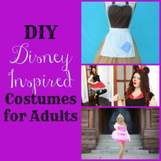diy disney inspired costumes for adults