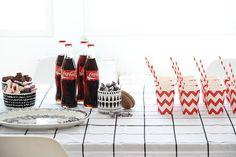 Birthday party coca-cola kid's