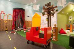 Brinquedoteca Vilinha para Mostra Polo design show 2012. projeto por sartori design