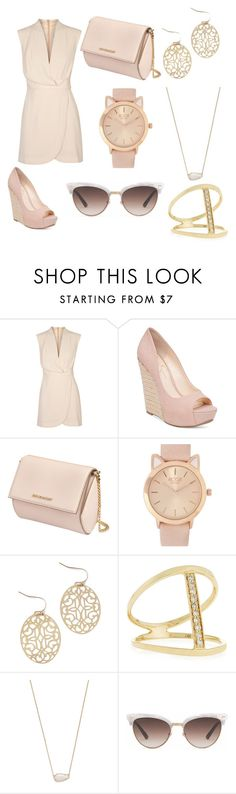 """Untitled #7"" by allahrose ❤ liked on Polyvore featuring Finders Keepers, Jessica Simpson, Givenchy, Sydney Evan, Kendra Scott and Gucci"