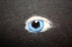 The Felted Gnome Knows: How to Needle Felt a Realistic Eye