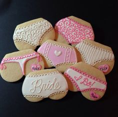 Lingerie Cookies-1 Dozen ***Minimum 2 Weeks for Delivery