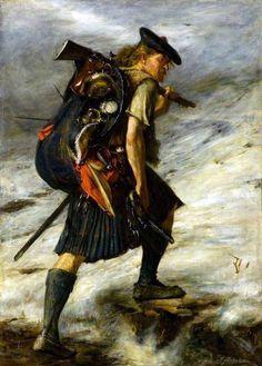 Survivor of the 1745 Jacobite Rebellion.