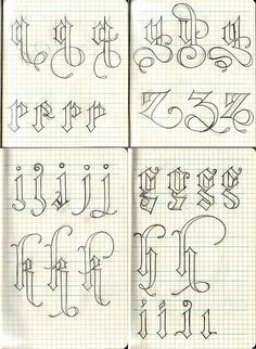 Beautiful hand-sketch lettering