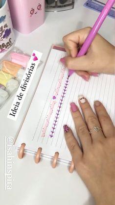 Bullet Journal Paper, Bullet Journal Lettering Ideas, Bullet Journal Notebook, Bullet Journal School, Bullet Journal Ideas Pages, Bullet Journal Inspiration, Journal Diary, Kalender Design, Hand Lettering Tutorial