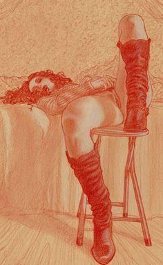 Adriano De Vincentiis - Galerie BD Erotique