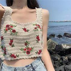 Your Shopping Cart – itGirl Shop Mode Crochet, Diy Crochet, Crochet Crafts, Crochet Baby, Bikini Crochet, Crochet Crop Top, Crochet Blouse, Crochet Designs, Crochet Patterns