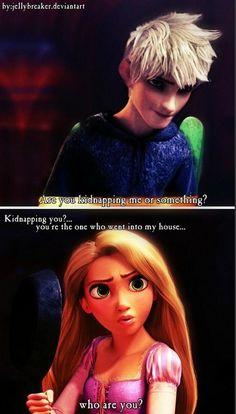 Rapunzel and Jack (jackunzel)