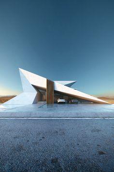 Unbelievable Modern Architecture Designs – My Life Spot Conceptual Architecture, Modern Architecture Design, Organic Architecture, Futuristic Architecture, Modern Buildings, Beautiful Architecture, Modern House Design, Landscape Architecture, Interior Architecture