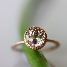 *FAVORITE* 27 Non-Diamond Engagement Rings that Sparkle Just as Bright | OneWed