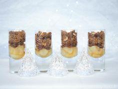 Dessert de Noël en verrine Panna Cotta, Cheesecake, Pudding, Sweets, Exactement, Ethnic Recipes, Desserts, Gluten, Blog