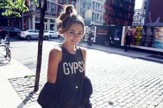 Gypsy Muscle Tee Vintage Black http://spiritualgangster.com/collections/whats-new