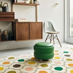 Vintage Furniture, Cool Furniture, Wooden Furniture, Snug Room, Home Panel, Classic Rugs, Orla Kiely, Living Room Carpet, Living Room Colors