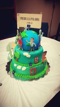 Cake for pioneer school
