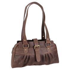 90129d1eba65b Greenland Nature Leder Handtasche Trend Damen Tasche braun 39 cm