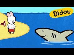 Requin - Didou, dessine-moi un requin  Dessins animés pour les enfants - YouTube