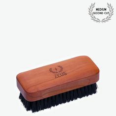 Zeus Pear Wood Boar Bristle Beard Brush with Brush Bag - Grooming Tools Boar Bristle Brush, Beard Brush, Beard Care, Natural Oils, Your Skin, Sunglasses Case, Good Things, Free Delivery, Pear