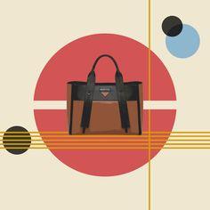 Hommage au Bauhaus. Cent ans après sa création, la légendaire école d'art allemande continue d'inspirer le monde, et particulièrement celui de la mode. La preuve avec les sacs Prada Ouverture qui se caractérisent par leur style épuré et leurs lignes droites. Une collection incontournable du...