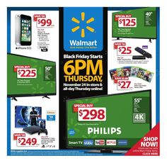 Walmart 2016 Black Friday Ad Preview