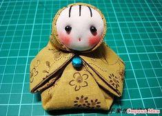Традиционная японская куколка из ткани. - Клуб рукоделия - Страна Мам
