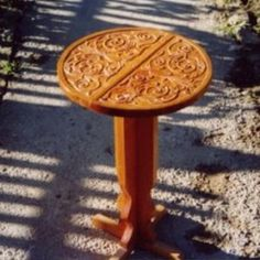 Carving, Table, Furniture, Home Decor, Decoration Home, Room Decor, Wood Carvings, Sculptures, Tables
