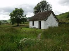 thatched+roof+cottages+in+Scotland | ... thatch, the inside layers will be as golden as the day the thatch was