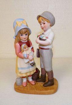 Lisa Doll Jan Hagara Ceramic Mini Figurine Royal Orleans Limited Edition 1990