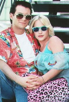 Patricia Arquette and Christian Slayter in True Romance