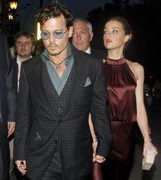 Johnny Depp y Amber Heard ya no esconden su amor #johnnydepp #amberheard
