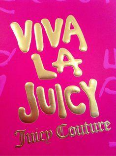 "Love *Juicy Couture* Parfume!!!            ""VIVA~La~JUICY""  {THINK PINK}"