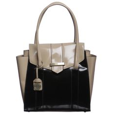 @Overstock - Store your personal items in this classic tote handbag from London Fog. A colorblock design, spacious pockets and a flap-over top complete this handbag.   http://www.overstock.com/Clothing-Shoes/London-Fog-Salem-Colorblock-Tote-Bag/6760118/product.html?CID=214117 $40.99