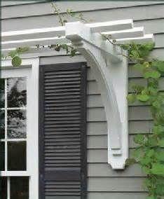 Image result for arbor over garage door