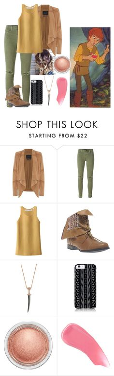 """Taran - CASUAL"" by blackest-raven ❤ liked on Polyvore featuring Oui, J Brand, Uniqlo, Wet Seal, Bee Goddess, Savannah Hayes, MAC Cosmetics and Hourglass Cosmetics"