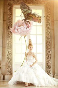 """The Terrier and Lobster: """"Fairy-Tale Fashion"""": Valerya by Amber Gray for Brides"""