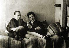 Anaïs Nin and husband Hugh Parker Guiler
