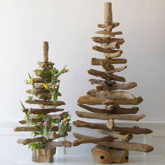 Photo du sapin de noël en bois flotté sans décoration   New Year ...