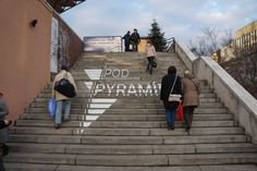 "If you're in the area, why not pop over to the Christmas markets ""pod pyramidou"" (under the pyramid) at the Slovak Radio building in Bratislava?"